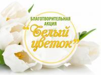 """Благотворительная акция """"Белый цветок"""""""