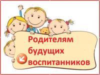 """Информация для родителей будущих воспитанников МБДОУ № 97 """"Добрынюшка"""""""