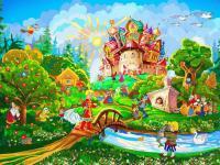 """Дистанционное обучение Тема недели: """"Волшебный мир сказок"""" (для детей 5-6 лет)"""